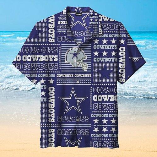 Amazing Dallas Cowboys Print Unisex Hawaiian Shirt