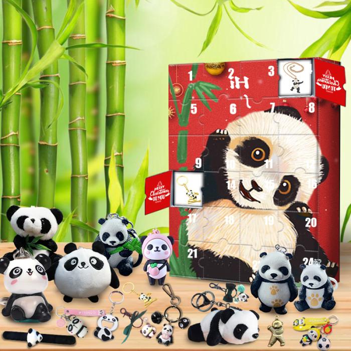 2021 panda advent calendar-contains 24 panda gifts