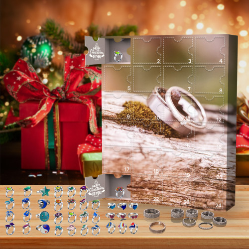 Ring jewelery advent calendar 2021 - Contains 24 gifts