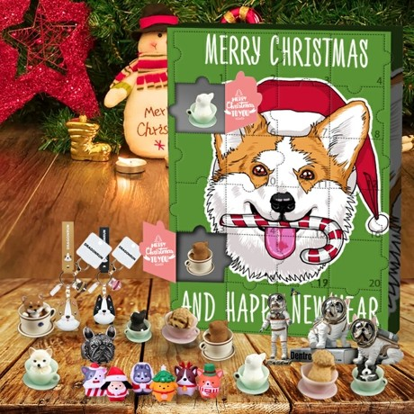 Dog Advent Calendar 2021 - Contains 24 gifts