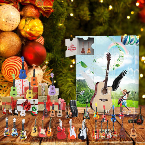 2021 Guitar Advent Calendar-Contains 24 gifts