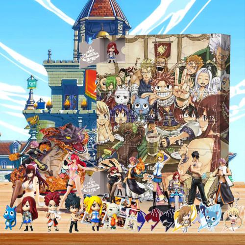 Fairy Tail Advent Calendar -- 🕸The One With 24 Little Doors