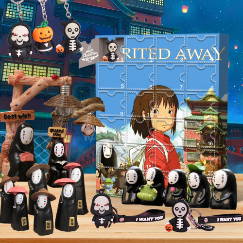 Spirited Away Advent Calendar -- 🎉give away 24PCS gifts