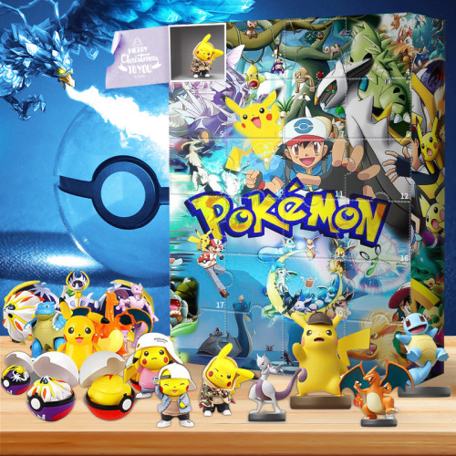 Pokemon Advent Calendar -- Contains 24 gifts