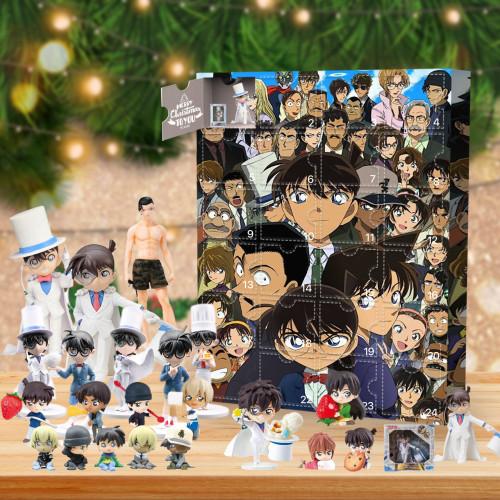 Detective Conan Christmas 24 days Advent Calendar - 🎉give away 24PCS Detective Conan gifts