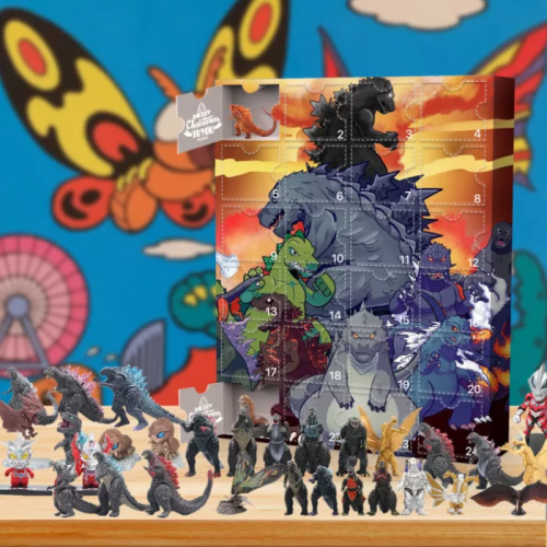 Godzilla Advent Calendar -- 🎁24 Gifts Are In It
