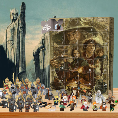 2021 Lord of the Rings Advent Calendar🎁24 Gifts Are In It