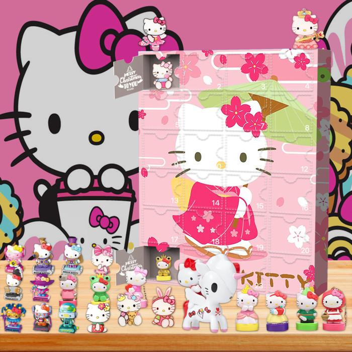 Hellokitty Christmas 24 days Advent Calendar - 🎉give away 24PCS Hellokitty gifts