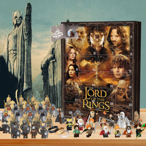 Lord of the Rings Advent Calendar🎁24 Gifts Are In It