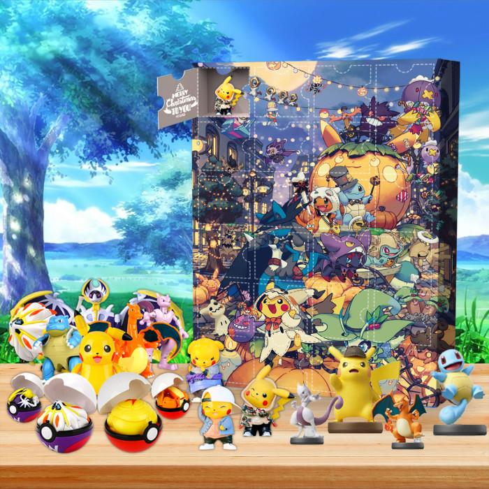 Pokemon Advent Calendar🎁The Calendar With 24 Small Gift