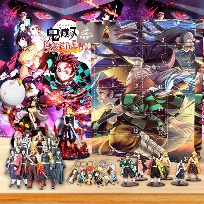 Demon Slayer: Kimetsu no Yaiba Advent Calendar -- 🎁24 Gifts Are In It