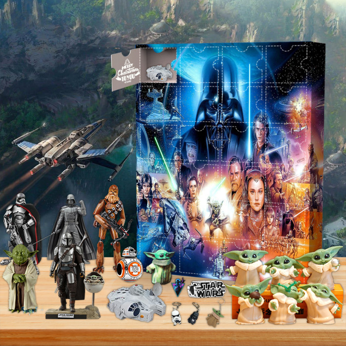 2021 Star wars Advent Calendar🎁24 Gifts Are In It