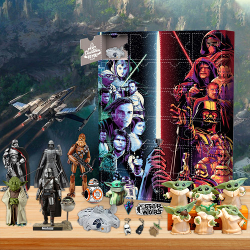 Star wars Advent Calendar🎁24 Gifts Are In It