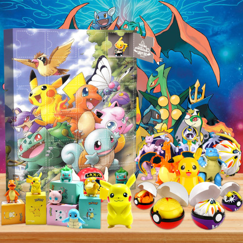 Pokémon Advent Calendar🎁24 Gifts Are In It
