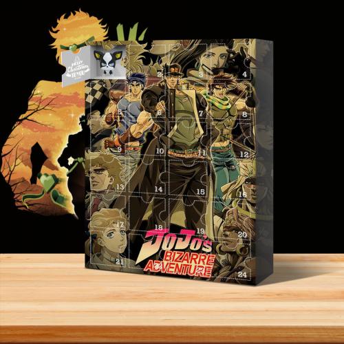 JoJo's Bizarre Adventure Advent Calendar -- 🎉Give away 24PCS gifts