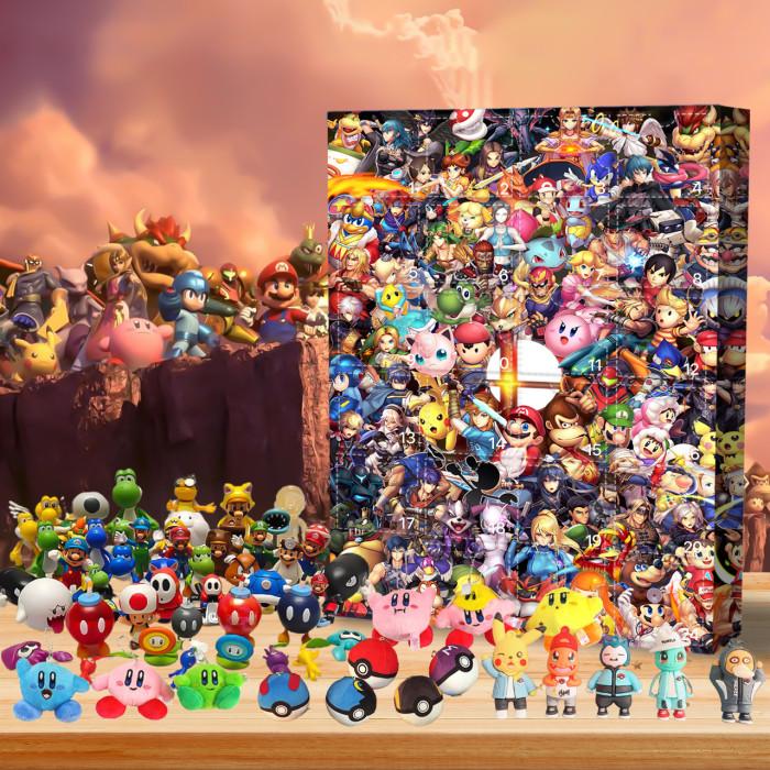 Super Smash Bros Advent Calendar -- 🎉Give away 24PCS gifts