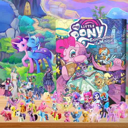 My Little Pony: Friendship Is Magic Advent Calendar -- 🎉Give away 24PCS gifts