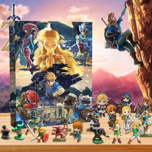 The Legend of Zelda Advent Calendar -- 🎉Give away 24PCS gifts