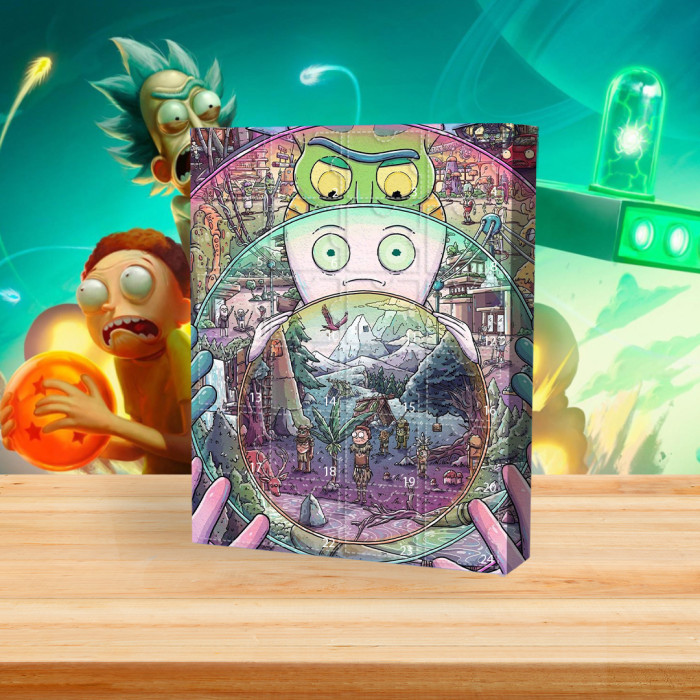 Rick and Morty Advent Calendar -- 🎉Give away 24PCS gifts