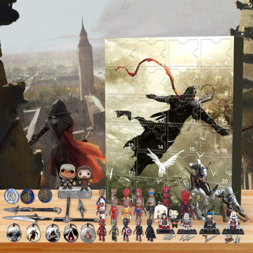 Assassin's Creed Advent Calendar -- 🎉Give away 24PCS gifts