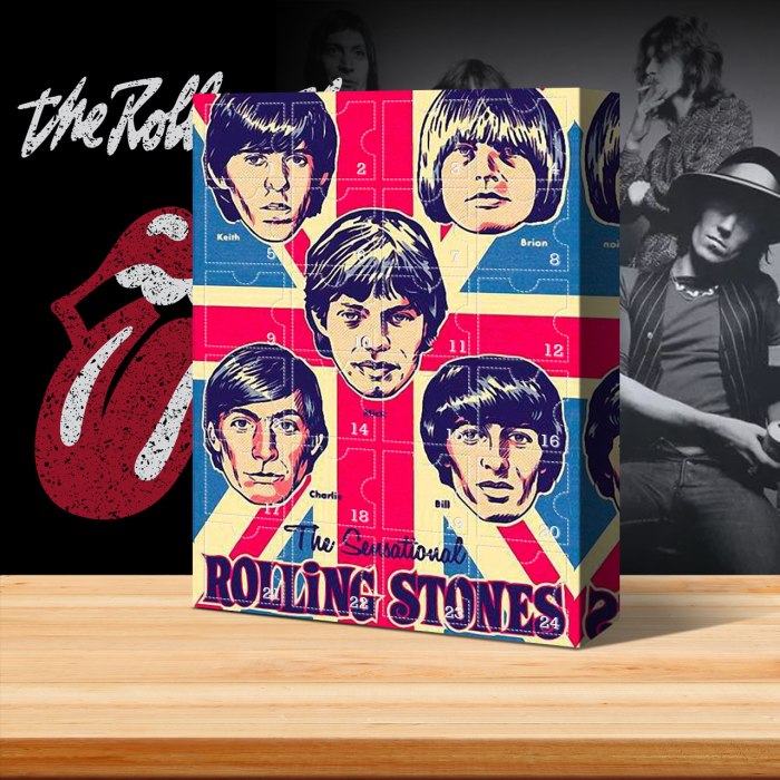 The Rolling Stones Advent Calendar -- 🎉Give away 24PCS gifts