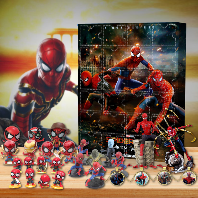 Spider-Man: No Way Home Advent Calendar -- 🎉Give away 24PCS gifts