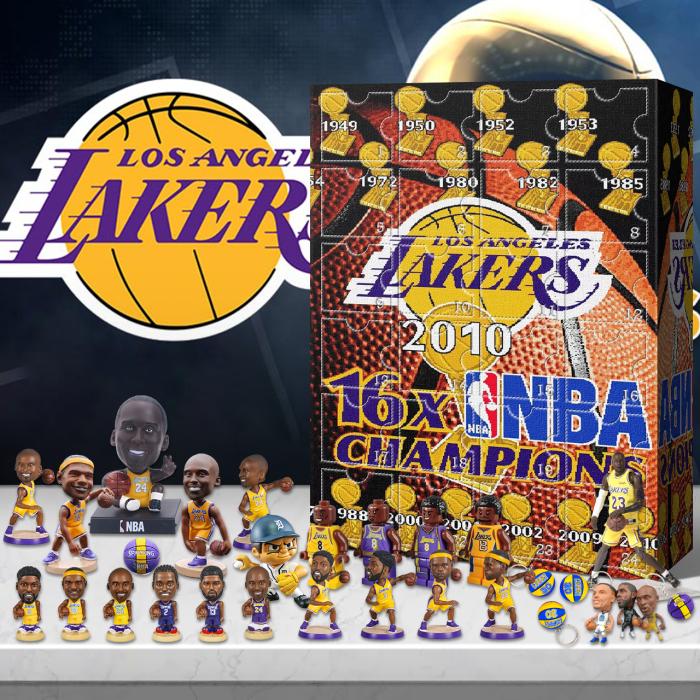 NBA-Lakers  Advent Calendar -- 🎉Give away 24PCS gifts