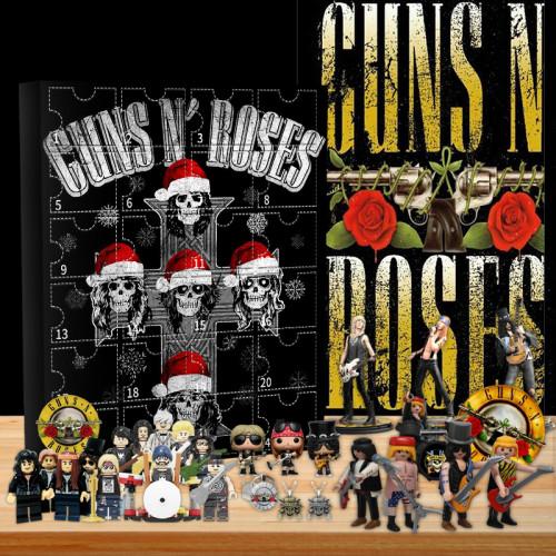 Guns N' Roses Advent Calendar -- 🎉Give away 24PCS gifts