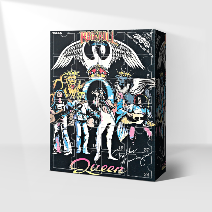 QUEEN- Freddie Mercury Signed Advent Calendar-- 🎉Give away 24PCS gifts