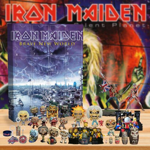 Iron Maiden Advent Calendar -- 🎉Give away 24PCS gifts