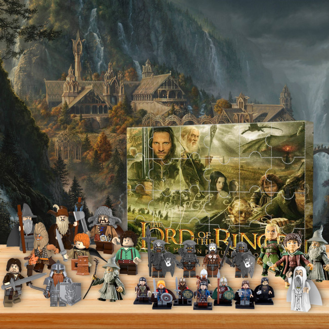 Lord of the Rings  Advent Calendar -- 🎉Give away 24PCS gifts