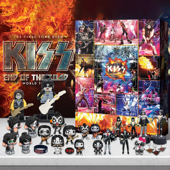 KISS Gene Simmons Signature Advent Calendar -- 🎉Give away 24PCS gifts