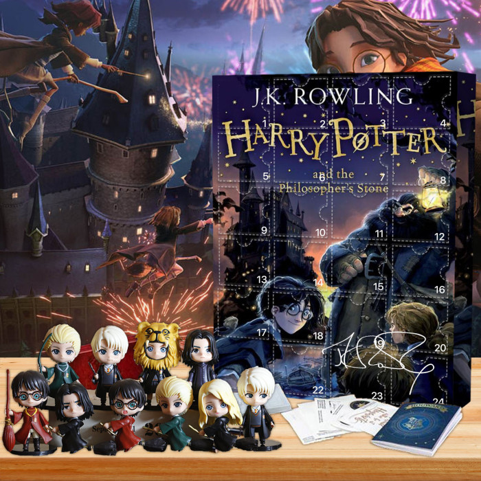 Harry Potter -Signed by J. K. Rowling Advent Calendar -- 🎉Give away 24PCS gifts