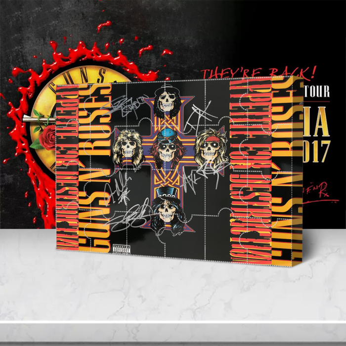 Guns N' Roses Signed Advent Calendar -- 🎉Give away 24PCS gifts