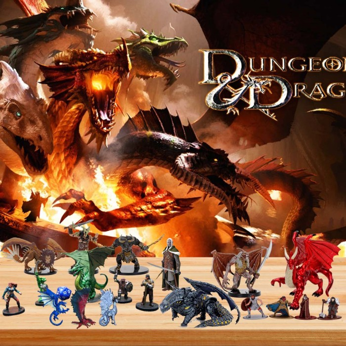 Dungeons and Dragons  Advent Calendar -- 🎉Give away 24PCS gifts