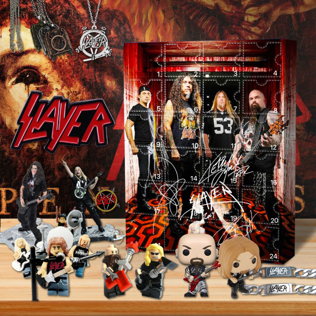 The Slayer Advent Calendar -- 🎉Give away 24PCS gifts