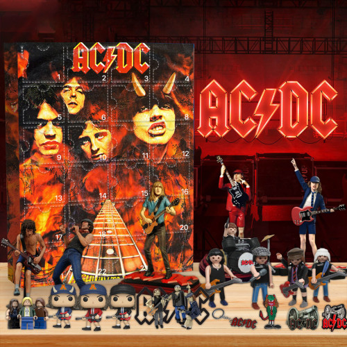 The AC/DC Advent Calendar -- 🎉Give away 24PCS gifts