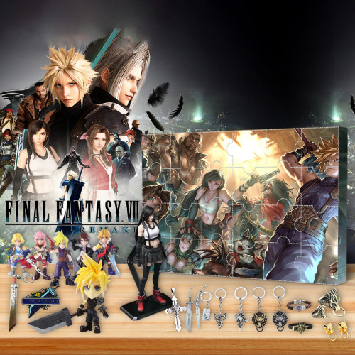 Final Fantasy  Advent Calendar -- 🎉Give away 24PCS gifts
