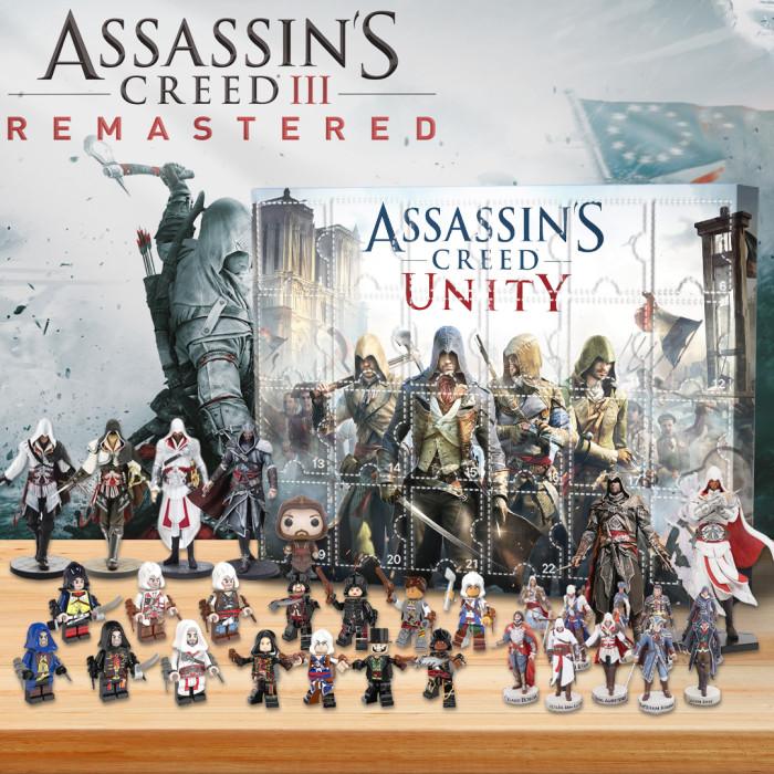 Assassin's Creedr  Advent Calendar -- 🎉Give away 24PCS gifts