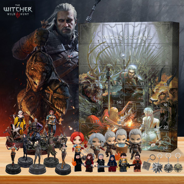 The Witcher 3 Wild Hunt  Advent Calendar -- 🎉Give away 24PCS gifts