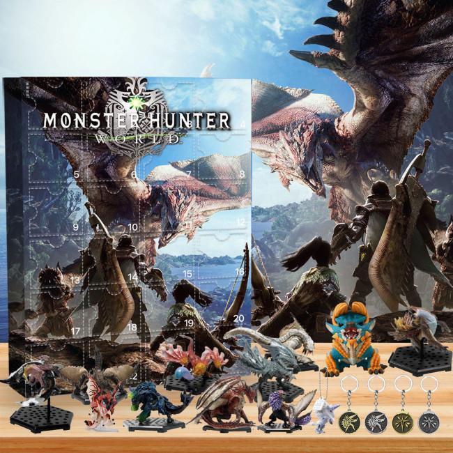Monster Hunter  Advent Calendar -- 🎉Give away 24PCS gifts