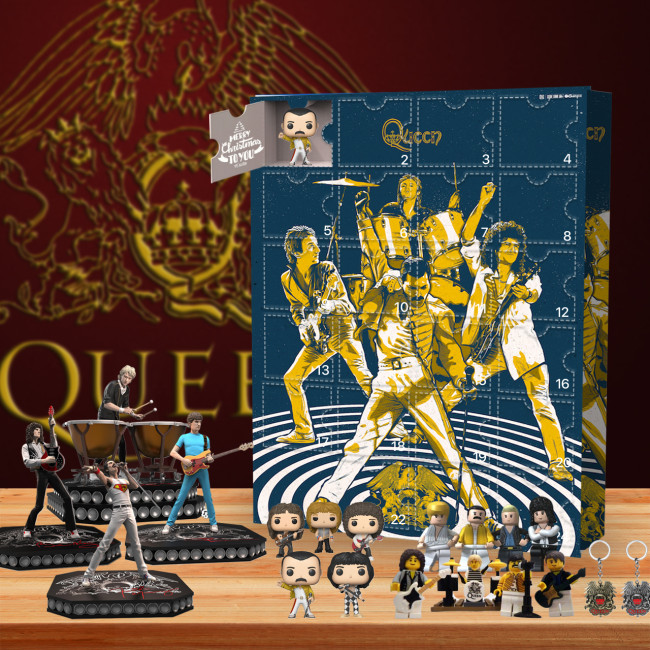 Queen's 50th Anniversary Advent Calendar-- 🎉Give away 24PCS gifts