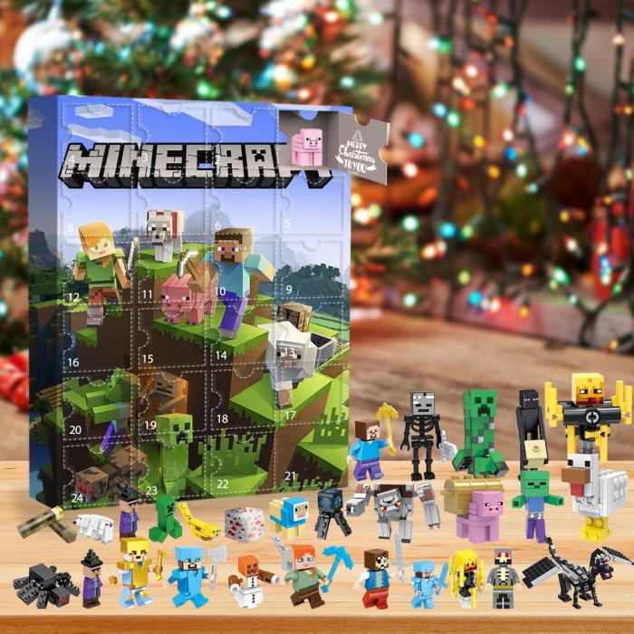Minecraft  Advent Calendar -- 🎉Give away 24PCS gifts