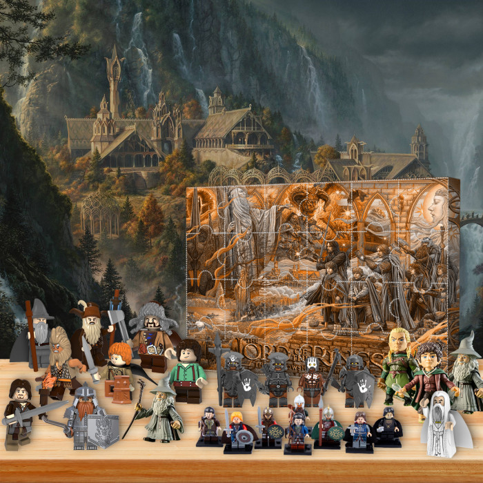 The Fellowship of the Ring Advent Calendar -- 🎉Give away 24PCS gifts