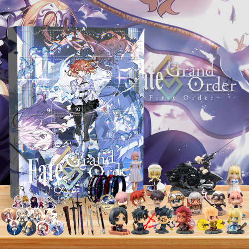 Fate/Grand Order  Advent Calendar -- 🎉Give away 24PCS gifts