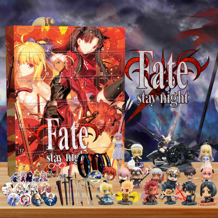 Fate/stay night Advent Calendar -- 🎉Give away 24PCS gifts