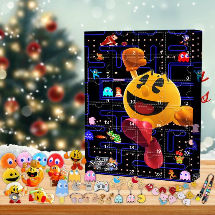 Pac-Man Advent Calendar -- 🎉Give away 24PCS gifts