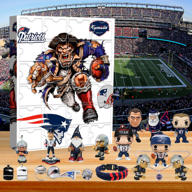 New England Patriots - Advent Calendar🎁 The best gift choice for fans