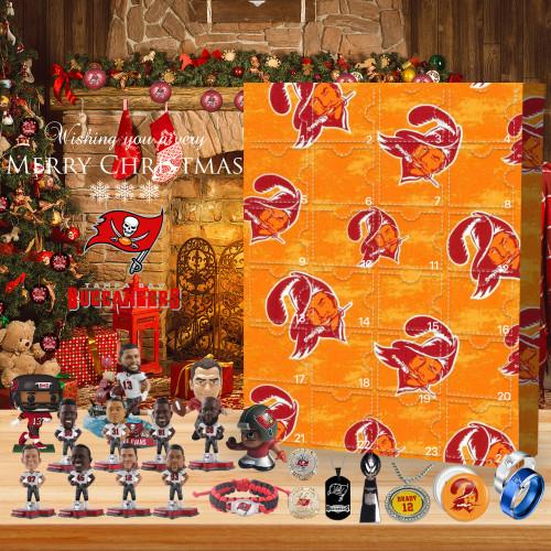 One of my favorite teams (Tampa Bay Buccaneers) - Advent Calendar