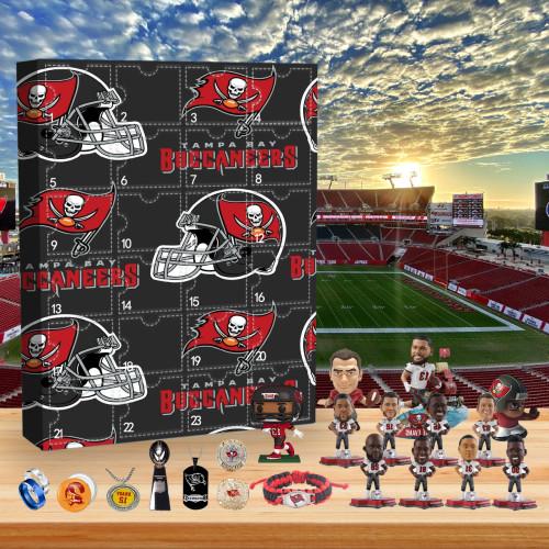 Tampa Bay Buccaneers Christmas Advent Calendar-2020 Super Bowl Championship